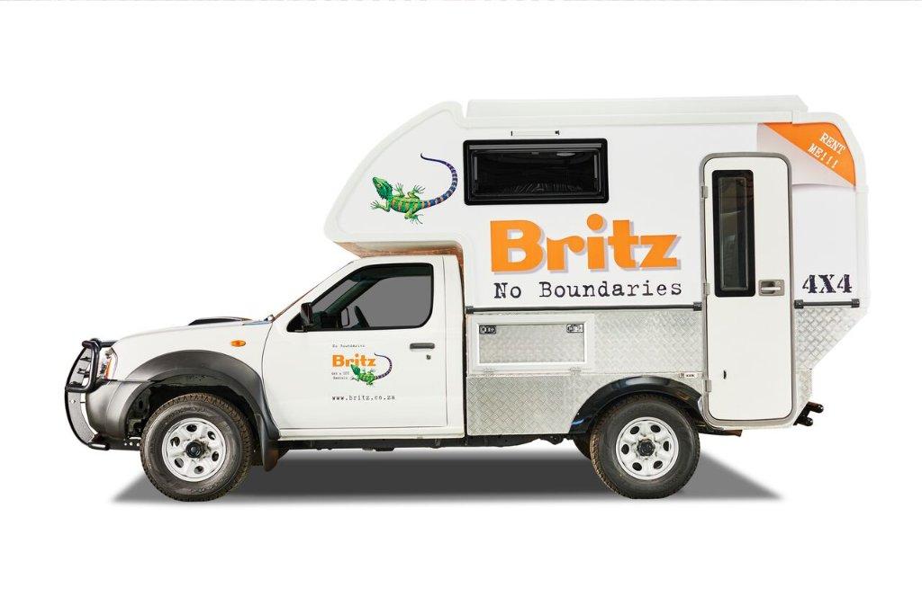 Britz 4x4 Campers South Africa Navi 2 Berth 4wd Camper Vehicle Information