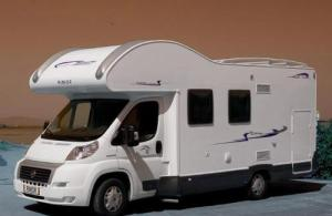 Model Motorhome Hire Italy