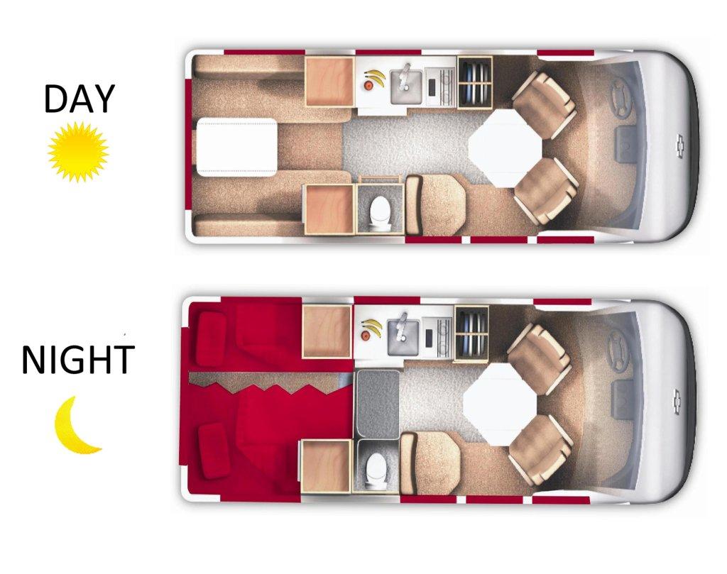 19 U0026 39  Deluxe Camper Van